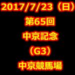 中京記念 2017 データ分析 出走予定馬 血統 動画 有名人予想