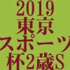 東京スポーツ杯2歳ステークス 2019 データ分析 出走予定馬 血統 動画 有名人予想