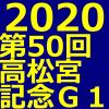 高松宮記念 2020 データ分析 出走予定馬 血統 動画 有名人予想