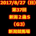新潟2歳S 2017 データ分析 出走予定馬 血統 動画 有名人予想